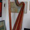 J Erat, single-action harp, no. 690 (c.1808) after restoration, private collection