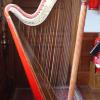 J Erat & Son, double-action harp, no. 1352, Lanhydrock House, Cornwall